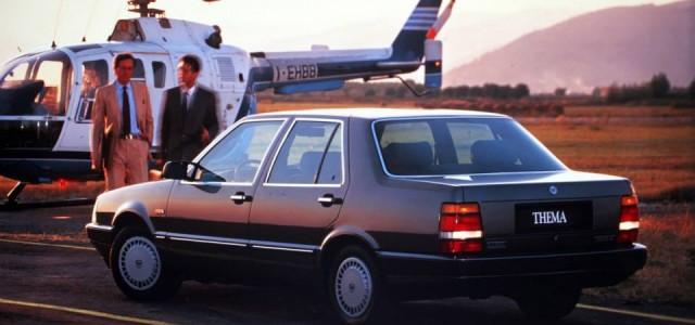 Lancia Thema Retro