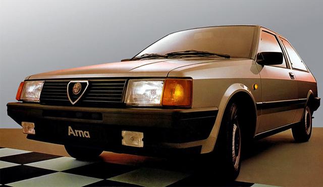 5 peggiori auto italiane alfa romeo arna