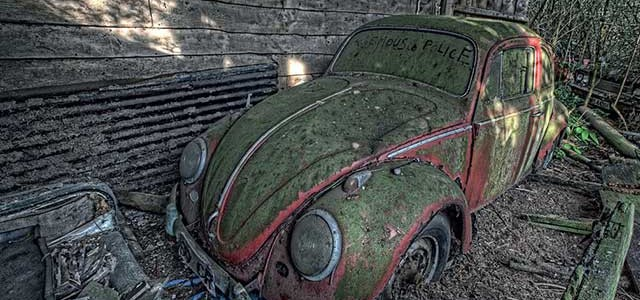 auto abbandonate