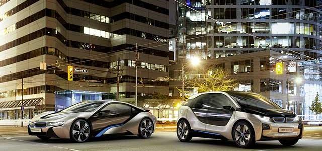 auto elettriche della bmw